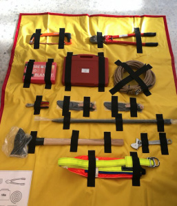 Safety kit - HeliRiviera Air Support Service for Luxury Yachting Industry